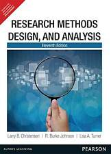 Research Methods, Design, and Analysis, 11th Edition