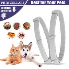 Adjustable Pet Anti Flea Tick Neck Collar S L Dog Protection Cat Kitten #