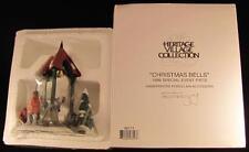 Dept 56 Heritage Village Christmas Bells 1996 Special Event Piece #98711