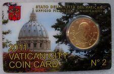 Vaticaan - Vatikaan 50 cent 2011, coincard