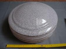 globe vasque 1950 rose moucheté à suspendre diamètre 29,5 cm lustre