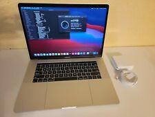 "2018 Macbook Pro 15"" Core i9 32GB Ram 1TB SSD AMD 560X Silver MacOS Big Sur"