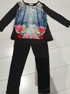 Ted Baker Leggings And Top - Age 5-6