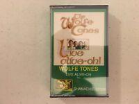 SEALED The Wolfe Tones Live Alive-oh! Cassette tape Shanachie Irish folk