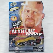 Road Champs WWF Attitude Racing STEVE AUSTIN Car w/Figure - Collectors Edition