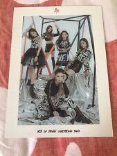 "K-POP ITZY Album ""IT'z Me"" WANNABE Official Group POSTCARD"