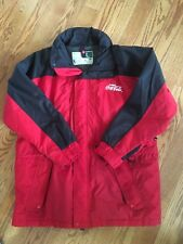 Coca Cola Coke Red & Black Heavyweight Jacket Outerwear Men's Large Style 1436