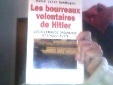 Daniel Jonah Goldhagen pour Les bourreaux volontaires de Hitler