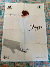 IRENE FARGO Fargo manifesto RARISSIMO POSTER