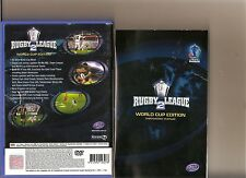 SUPER RUGBY LEAGUE 2 WORLD CUP EDITION PLAYSTATION 2 PS2 RARE PS 2