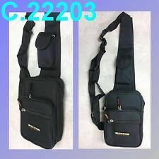 Bauchtasche Gürteltasche Body & Crossover Bag schwarz Umhängetasche