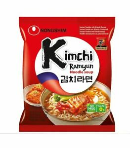 Kimchi Ram Yun Noodle Soup by Nong Shim (120g)
