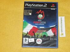 UEFA EURO 2008 PS2 SONY PLAYSTATION 2 VERS. ITALIANA NUOVO SIGILLATO