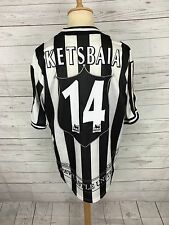 Mens Newcastle United Home Shirt - 1997/99 - Large - #14 KETSBAIA - Adidas