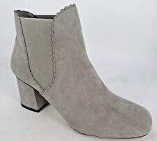 Dorothy Perkins Womens Anna Scallop Chelsea Boots Grey UK 8 EU 42 LN40 66