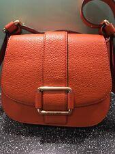 Genuine Micheal Kors leather orange handbag