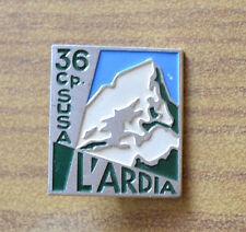 DISTINTIVO LORIOLI 36 CP. SUSA L' ARDIA SMALTATO spilla alpini SUBALPINA