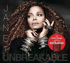 JANET JACKSON UNBREAKABLE OFFICIAL TARGET EDITION CD + 2 BONUS TRACKS RARE SOTW