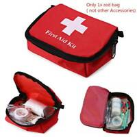 Outdoor Hiking Camping Survival Travel Emergency First Aid Kit Rescue Bag Set HS