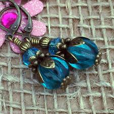 Leverback Glass Alloy Costume Earrings