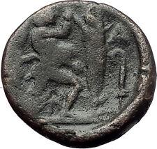 ANTIGONOS II GONATAS 277BC Pan Athena Gallic Victory Macedonia Greek Coin i60801