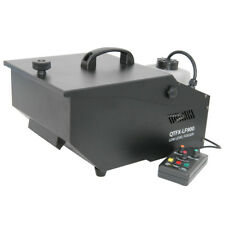 QTX QTFX-LF900 Low Level Fog Fogger Smoke Machine DJ Stage Band + Timer Remote
