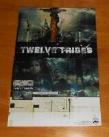 Twelve Tribes Midwest Pandemic Poster Promo Original 11x17 RARE