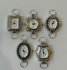 Mix Geneva Elite Watch Faces for Beading (5 PCs), Loops Battery Included (Multi)