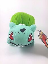 "Pokemon Go Nintendo Bulbasaur 6"" Soft Plush Toy Factory Doll Stuffed Animal"