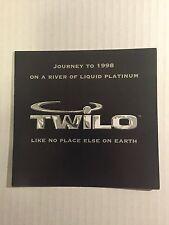 Rare Vintage 90s Club Flyer: JUNIOR VASQUEZ - NEW YEAR'S EVE 1998 @ TWILO NYC