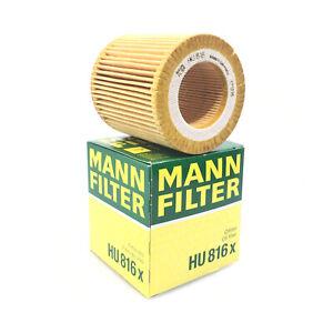 For BMW E60 E82 E88 E92 F06 F10 F22 F30 F32 F34 Engine Oil Filter Kit Mann