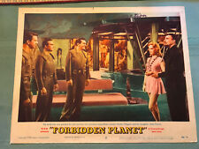 Forbidden Planet 1956 Mgm Sci-Fi lobby card autographed by Anne Francis