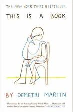 This Is a Book by Demetri Martin (2012, Trade Paperback)