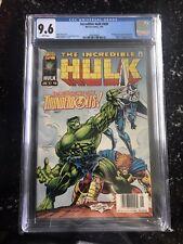 Incredible Hulk 449 Newsstand CGC 9.6