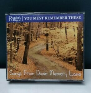 "Readers Digest ""You Must Remember These"" Set - Songs From Down Memory Lane"