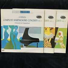 BACH Complete Harpsichord Concerti Volumes 1-3 - WESTMINSTER ST 3LP LOT