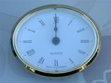 Caravan Boat Arts Crafts bulkhead Oval Clock made in Germany ME508