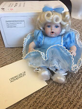 Marie Osmond 1999 Baby Miracles in Blue Tiny Tot Doll; Sonja Bryer #5893