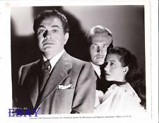 Gail Russell Edward G Robinson VINTAGE Photo Night Has A Thousand Eyes