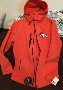 NFL Coat Denver Broncos Coat Large  Full Zip NFL Coat New With Tag NEW OLD STOCK