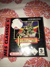 CASTLEVANIA NES CLASSICS GAME BOY ADVANCE 2005 PAL BRAND NEW FACTORY SEALED