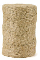 360' Premium Jute Twine String, All-Natural, 3-ply Cord Rope for Craft Gift DIY
