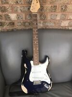 Relic Stratocaster style copy guitar Reliced Custom Shop Style Unbranded