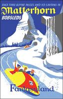 Disneyland Matterhorn Poster Disney Fantasyland - Buy Any 2 Get 1 Free