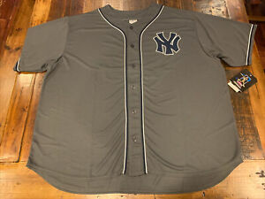 Aaron Judge New York Yankees Majestic Men's Jersey 4XL 4X Grey Sewn On