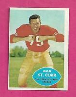 1960 TOPPS # 118 SAN FRANCISCO BOB ST CLAIR  EX-MT CARD (INV# C0513)