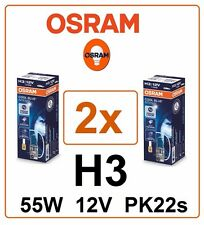 2x H3 Cool Blue Intense 4200K OSRAM 55W 12V 64151CBI XENON Headlight Germany
