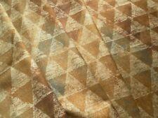 Zoffany Curtain / Upholstery Fabric ZAIS 2.6m Copper/Pewter - Velvet - 260cm