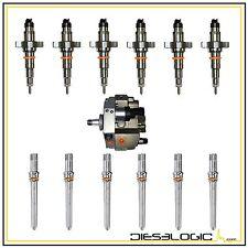 2004.5-2007 5.9 INJECTOR DELUXE SET (6) DODGE CUMMINS 5.9L W/NEW PUMP & TUBES