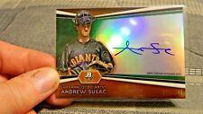 Andrew Susac 2012 Autographed Bowman Platinum 330/399 (San Francisco Giants)